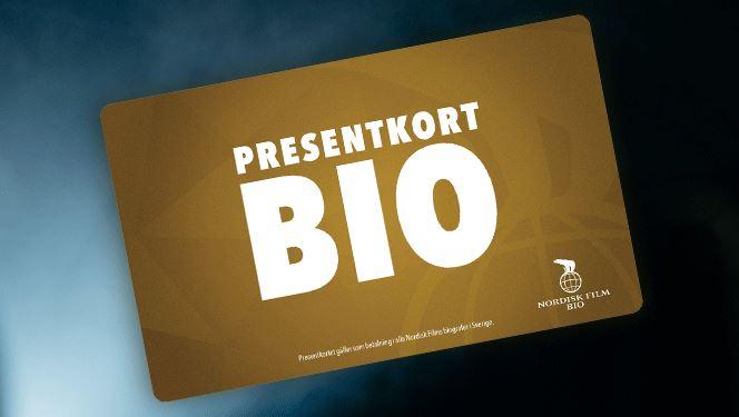 Presentkort bio tävling